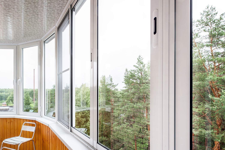 Холодные панорамные окна