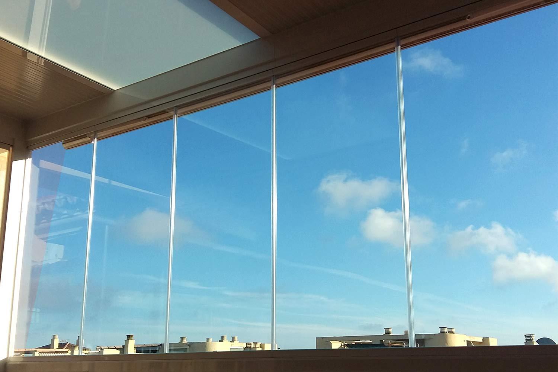 Безрамные панорамные окна