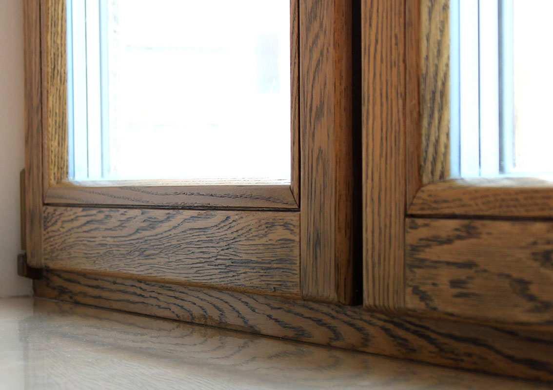 Остекление балкона или лоджии деревянными рамами - цены в Киеве