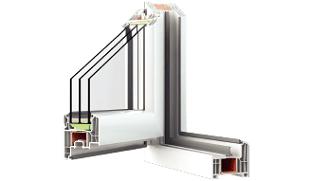 Современный профиль окна – купить  в Фабрике Окон